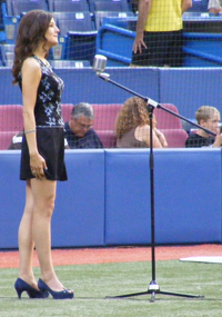 Amy at Rogers Center